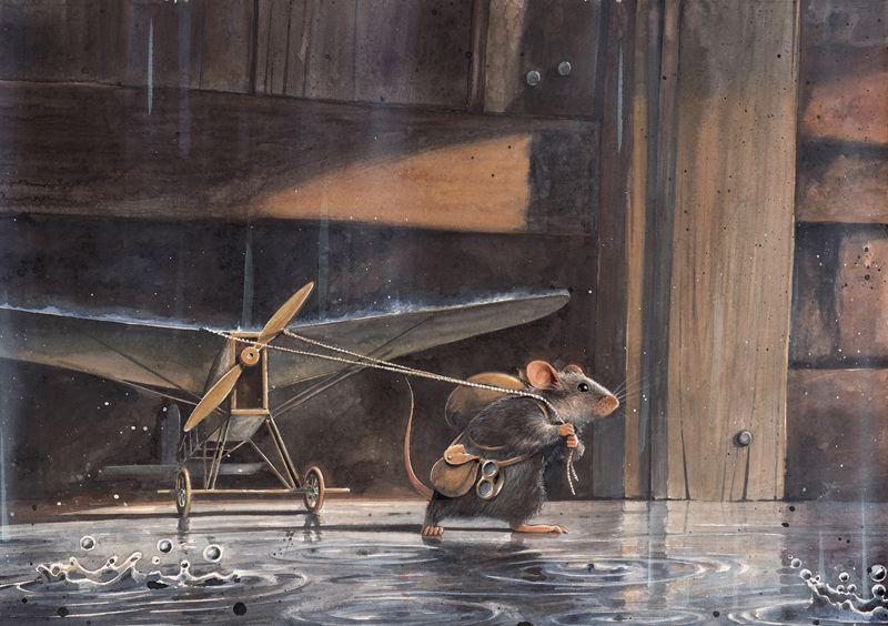 """""""Lindbergh – Die abenteuerliche Geschichte einer fliegenden Maus"""" von Torben Kuhlmann © 2014 NordSüd Verlag AG, Zürich/ Schweiz"""