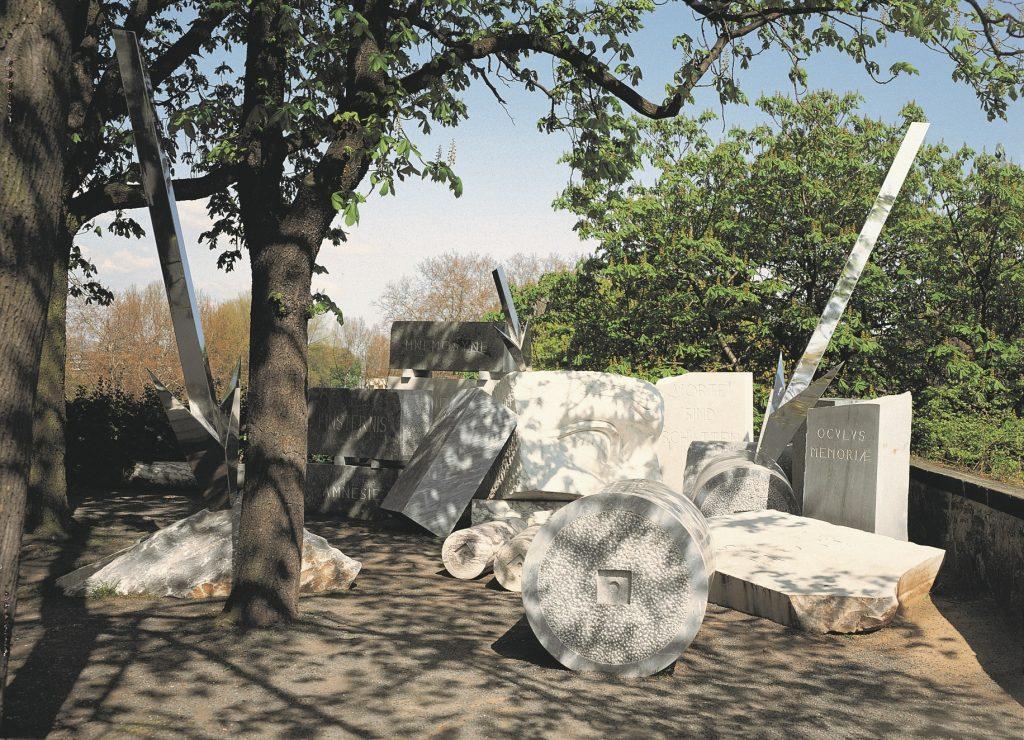 Sammlung Skulpturenpark Aussenskulpturen Deutschherrenhaus Skulptur Depot Memoire Poirier