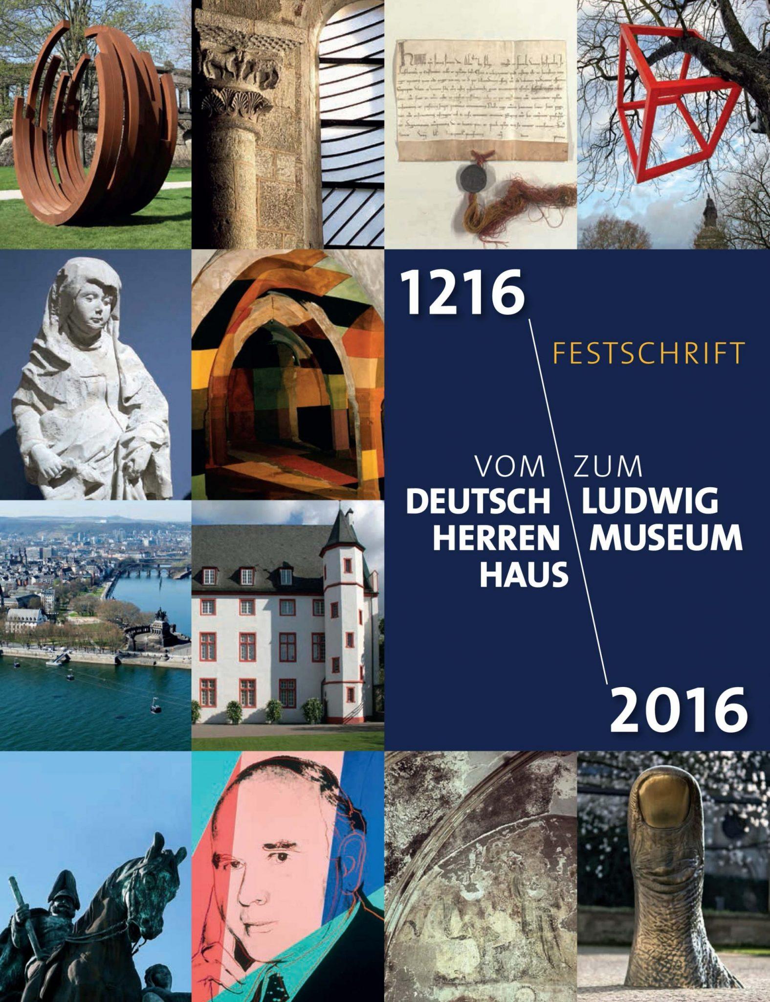 Shop Katalog Cover Buch Festschrift Deutschherrenhaus