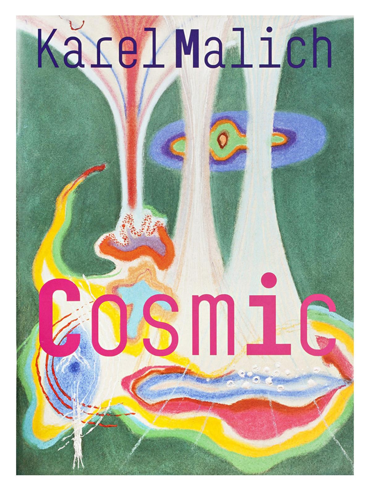 Shop Katalog Cover Buch Karel Malich