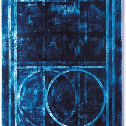 Louis Cane Sammlung Ludwig Blau Gemälde