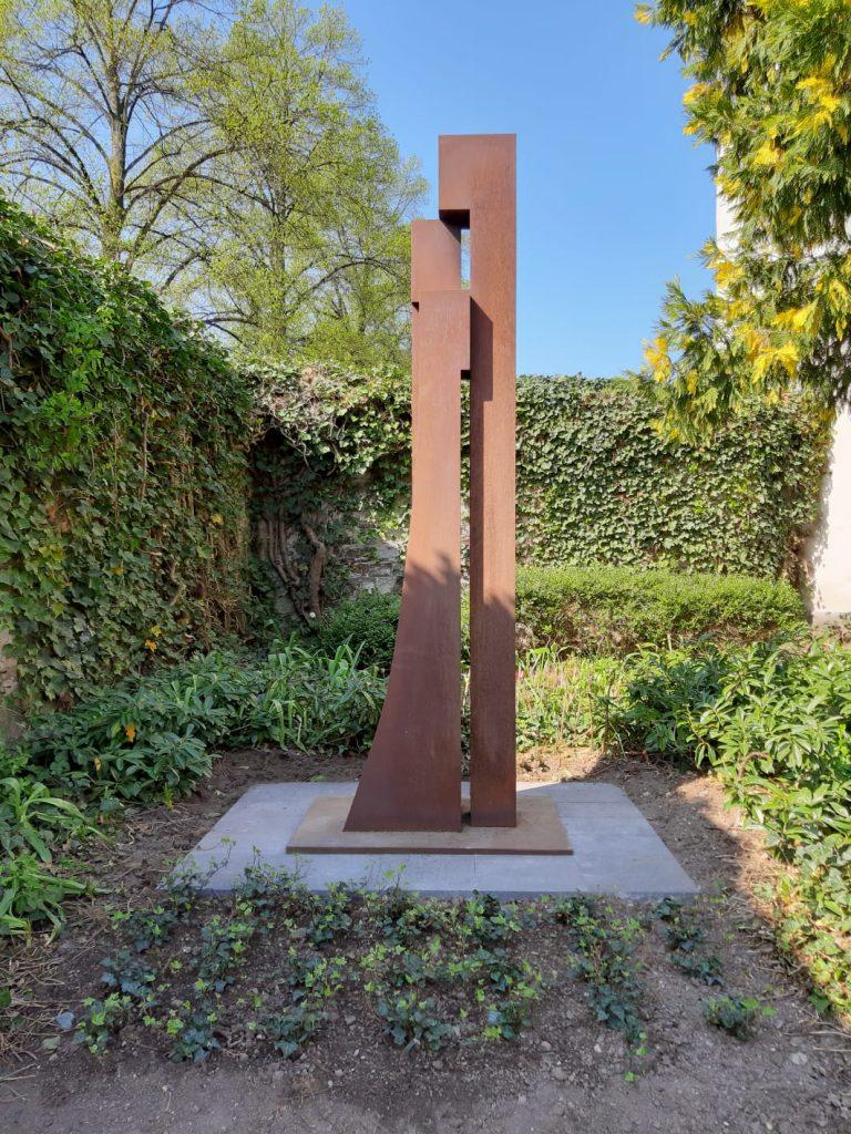 Aussenskulpturen Martine Andernach Grazien drei Blumenhof Skulpturenpark Skulptur Sammlung