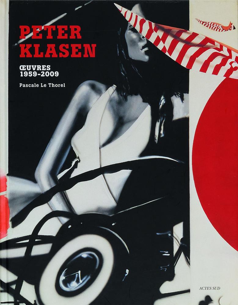 Shop Katalog Cover Buch Peter Klasen