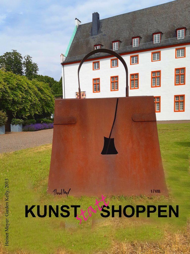 Logo KunstStattShoppen © Ludwig Museum